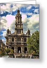 Paris Church Greeting Card