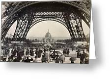 Paris Exposition, 1889 Greeting Card