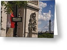 Paris Frame Of Mind Greeting Card
