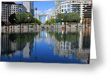 Paris La Defense 3 Greeting Card