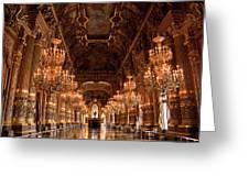 Paris Opera House Vi Greeting Card