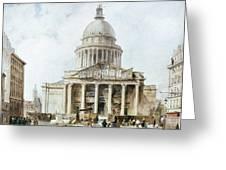 Paris: Pantheon, 1835 Greeting Card