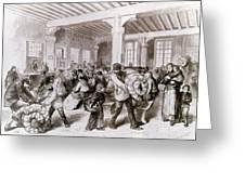 Paris: Pawnbroker, 1868 Greeting Card