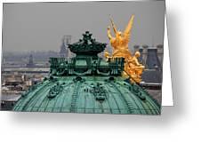 Paris Rooftops 1 Greeting Card