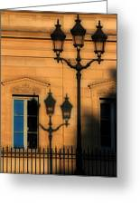 Paris Shadows Greeting Card