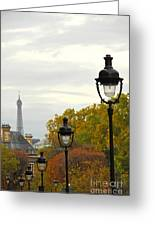 Paris Street Greeting Card