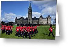 Parliament Building Ottawa Canada  Greeting Card by Garry Gay