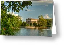Parthenon At Nashville Tennessee 13 Greeting Card