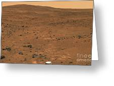 Partial Seminole Panorama Of Mars Greeting Card