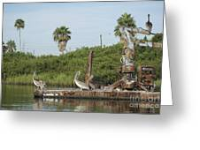 Party Barge Greeting Card