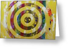 Party- Bullseye 2 Greeting Card by Mordecai Colodner