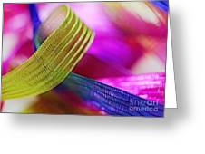 Party Ribbons Greeting Card by Judi Bagwell