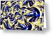 Party Time Abstract Greeting Card