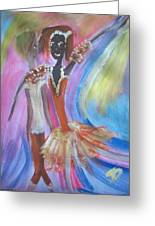 Passion Ballet Greeting Card