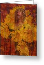 Passion Flowers Greeting Card by Cindy Wright