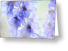 Passion For Flowers. Blue Dreams Greeting Card
