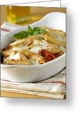 Pasta Al Forno Greeting Card