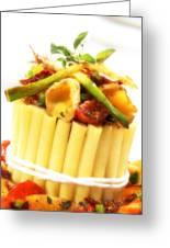 Pasta Crown Greeting Card