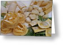Pasta Perfect Greeting Card
