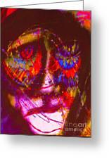 Pastel Man 20 Greeting Card