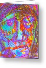 Pastel Man 22 Greeting Card