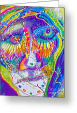 Pastel Man 23 Greeting Card