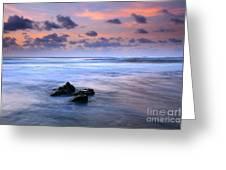 Pastel Tides Greeting Card