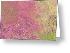 Pastle Pink Stone Greeting Card