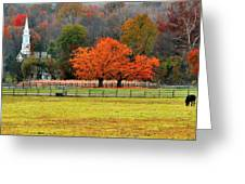 Pastoral Autumn Greeting Card