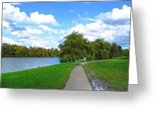 Path Greeting Card