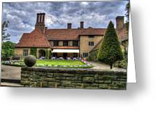 Patio Restaurant At Cecilienhof Palace Greeting Card