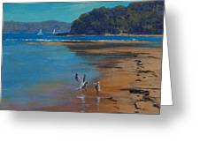 Patonga Beach Australia Greeting Card