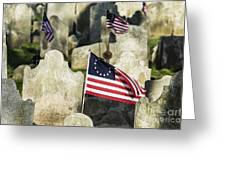 Patriot Cemetery Greeting Card