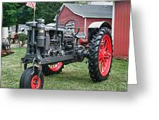 Patriotic Farmall Greeting Card