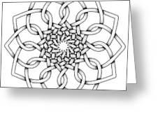 Pattern 18 Greeting Card