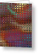 Pattern Study I Reflections Greeting Card