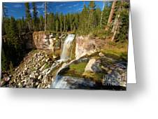 Pauina Falls Overlook Greeting Card