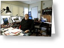 Paul Ekman, American Psychologist Greeting Card by Volker Steger