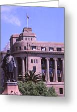 Paul Kruger Church Square Greeting Card