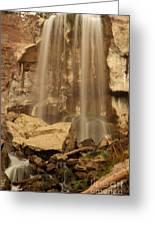 Paulina Falls Cascade Greeting Card