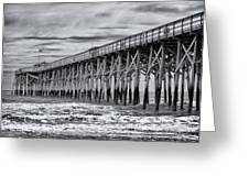 Pawleys Island Pier Greeting Card