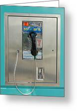 Pay Phone Greeting Card