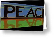 Peace-2 Greeting Card