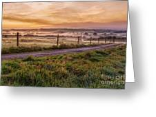 peace and quiet in the English coutryside Greeting Card