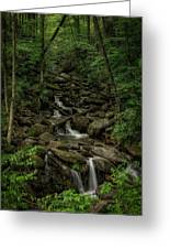 Peaceful Cascade Greeting Card