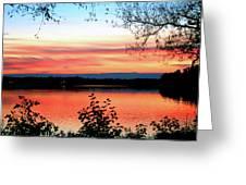 Peaceful Evening Greeting Card
