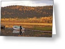 Peaceful Harding Lake Greeting Card