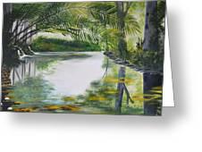 Peaceful Pond Greeting Card
