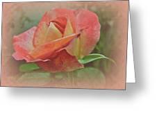 Peachy Keen Greeting Card