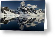 Peaks Along  Neumayer Channel Greeting Card